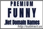 English Language Premium Funny .net Domain names